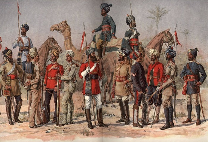 Не все сипаи примкнули к мятежу. Некоторые отказывались ему противостоять, но защищали гражданских из числа англичан.