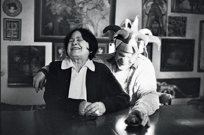 Кира Муратова со своим вторым мужем Евгением Голубенко.